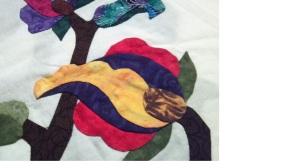 Jacobean Quilt Block by Linda McDaniel