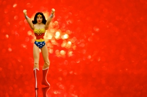 For a few brief moments, I was WONDER WOMAN